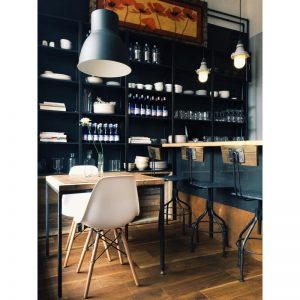 "itāļu restorāns ""Goldingen Room"""
